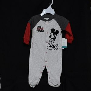 Mickey Mouse One Cool Mouse Pajama 0-3 months